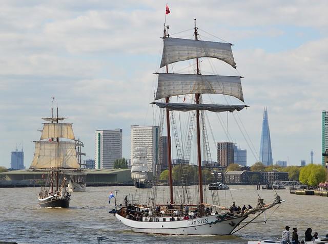 Tall Ship (82) @ River Thames 13-04-17