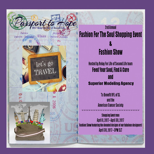 PASSPORT TO HOPE RFL SHOPPING EVENT 512