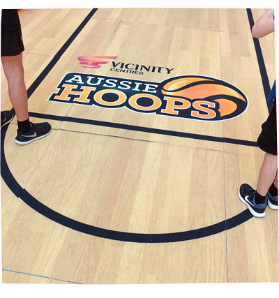 School Holiday Basketball Fun with Aussie Hoops