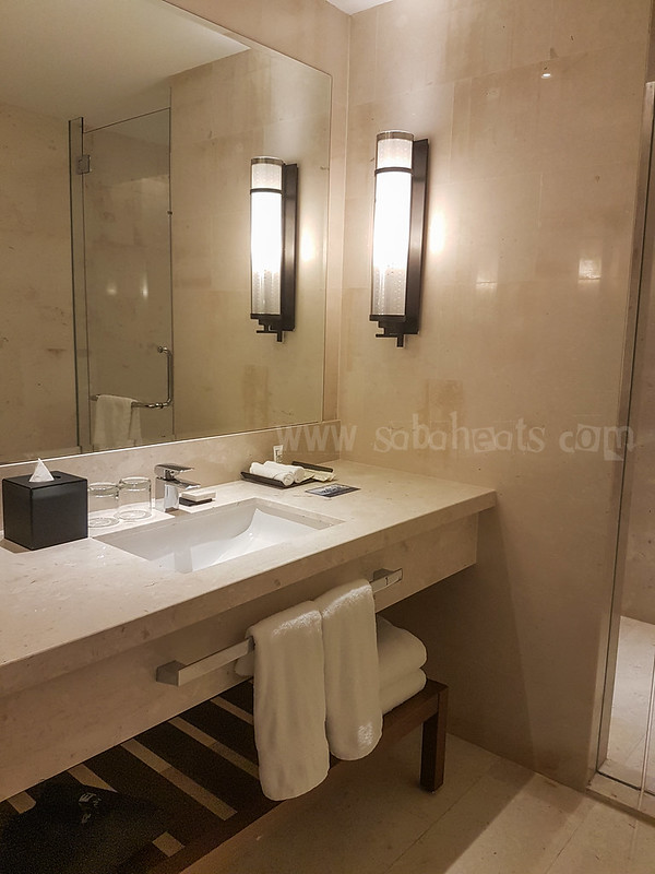 as with other hilton properties toiletries come from peter thomas roth hilton kk hilton kota kinabalu