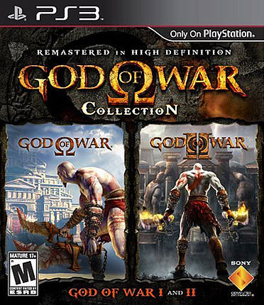 God of War Collection - Cover