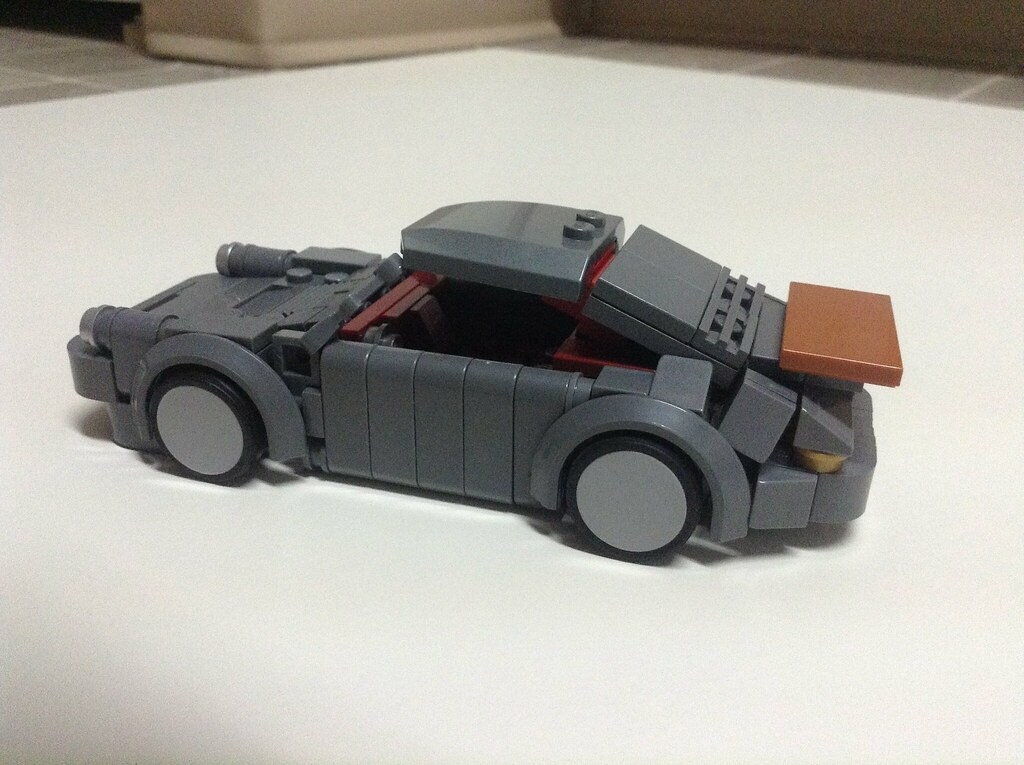 Porsche 930 My Attempt At Mocpages Zeto Vinces Design I Flickr