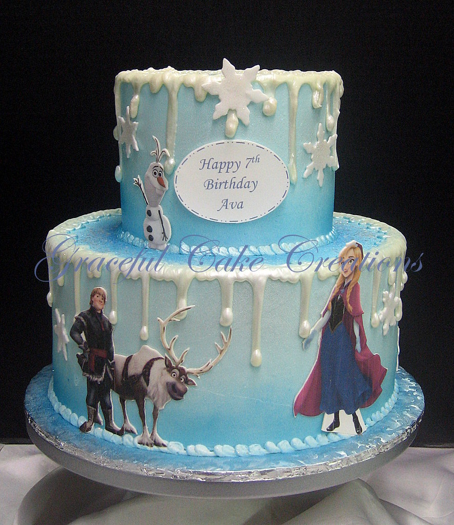 Frozen Birthday Cakes Gold Coast