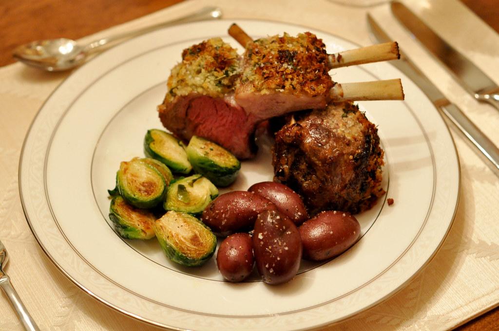Rack of Lamb Valentine's Dinner   Rack of Lamb recipe from ...