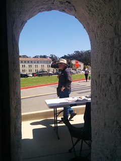 from last sunday in the northside: walk, draw, walk — in the presidio. | by meligrosa
