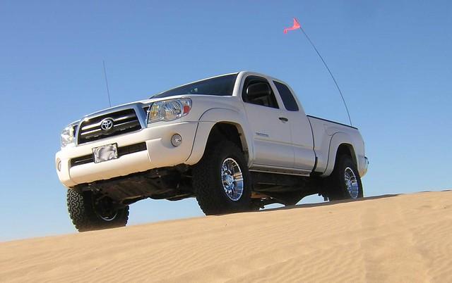 Toyota Terrain: Sand dunes