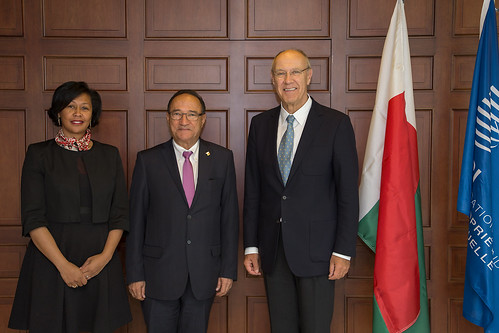 Madagascar Prime Minister Visits WIPO | by WIPO | OMPI