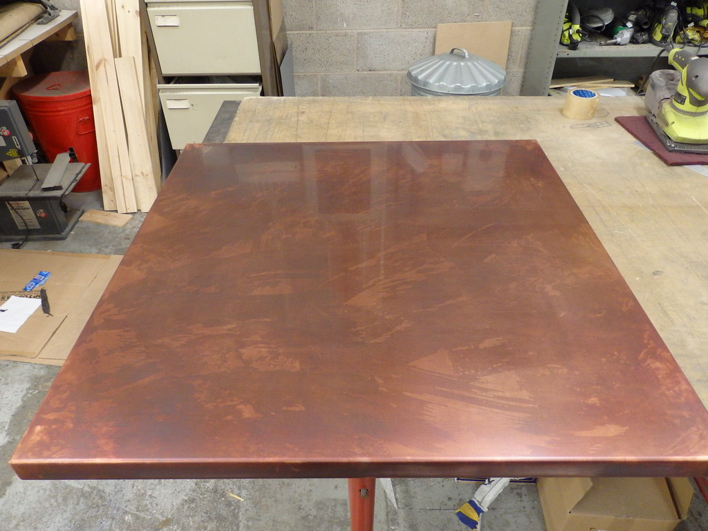 Ordinaire ... 42   Variation Bronzed Copper Table Top | By Metal Sheets Limited