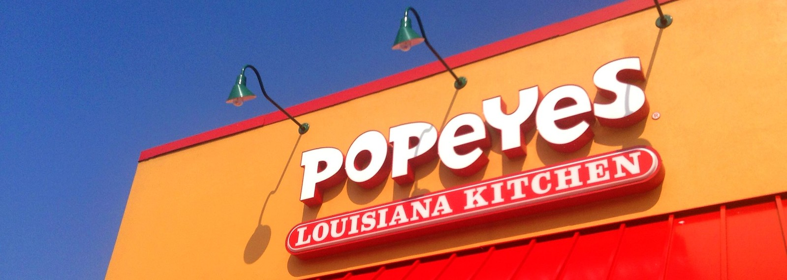Popeyes Louisiana Kitchen Logo Popeye's Louisiana Kitchen Sign Logo Chicken  Flickr