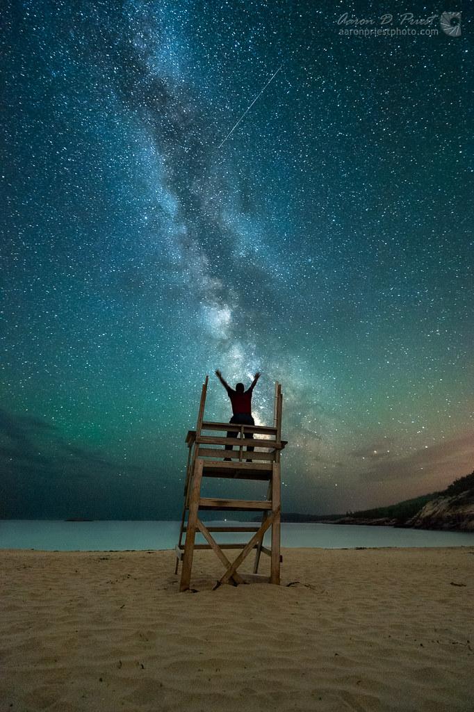 Milky Way Symphony Sand Beach Acadia National Park