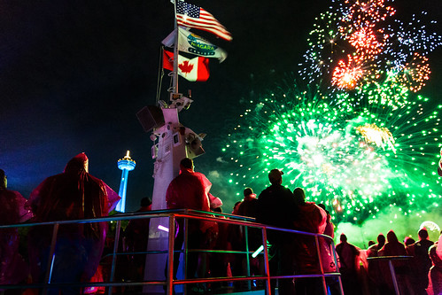Fireworks in Cananda