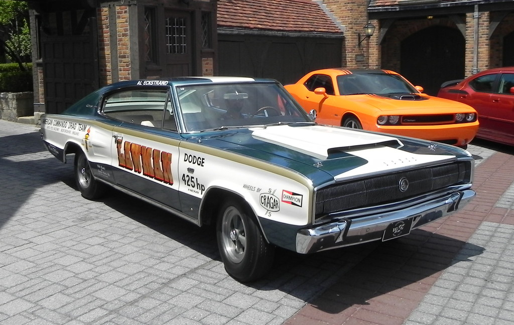 1966 Dodge Charger Lawman Race Car From The Dodge 100th Flickr