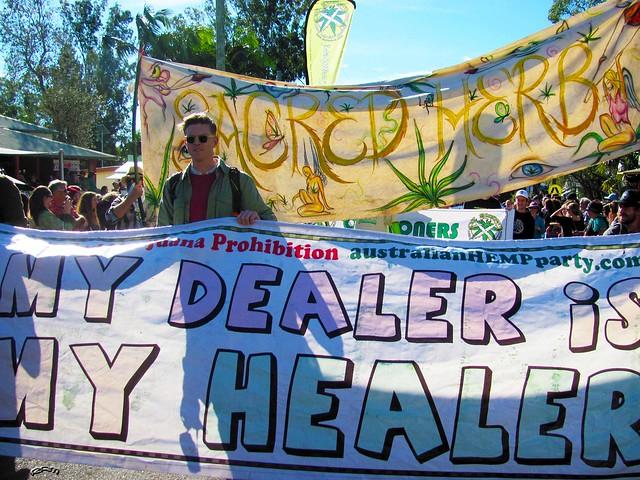 My Dealer Is My Healer by R. Ayana