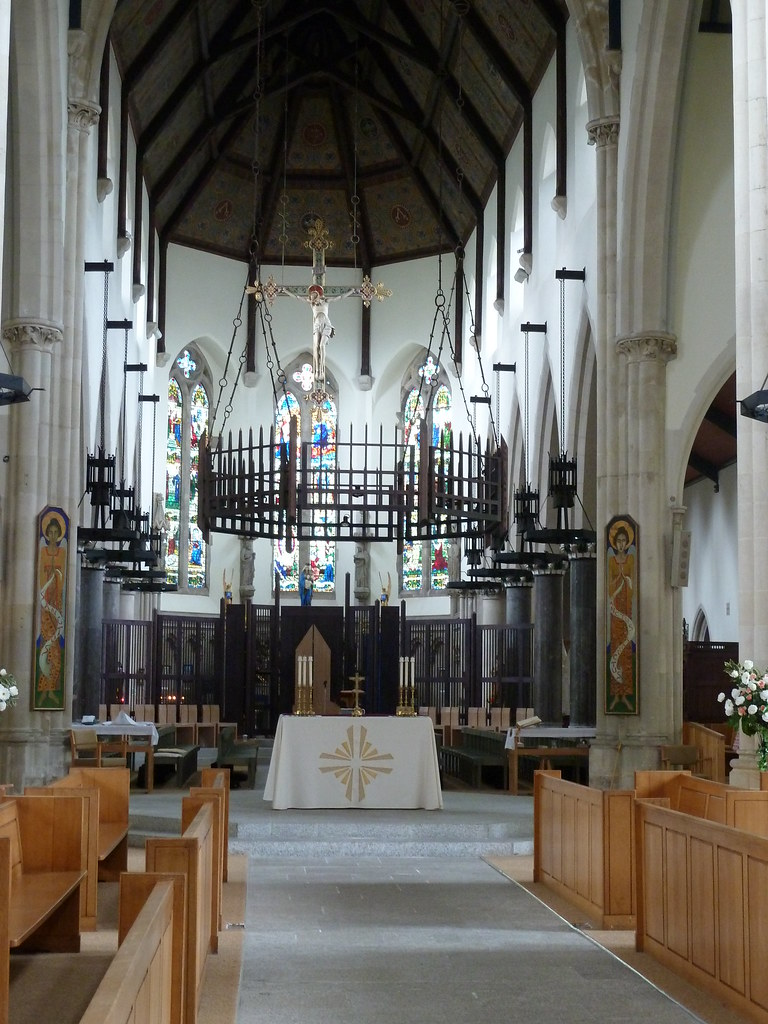 plymouth roman catholic cathedral interior of the
