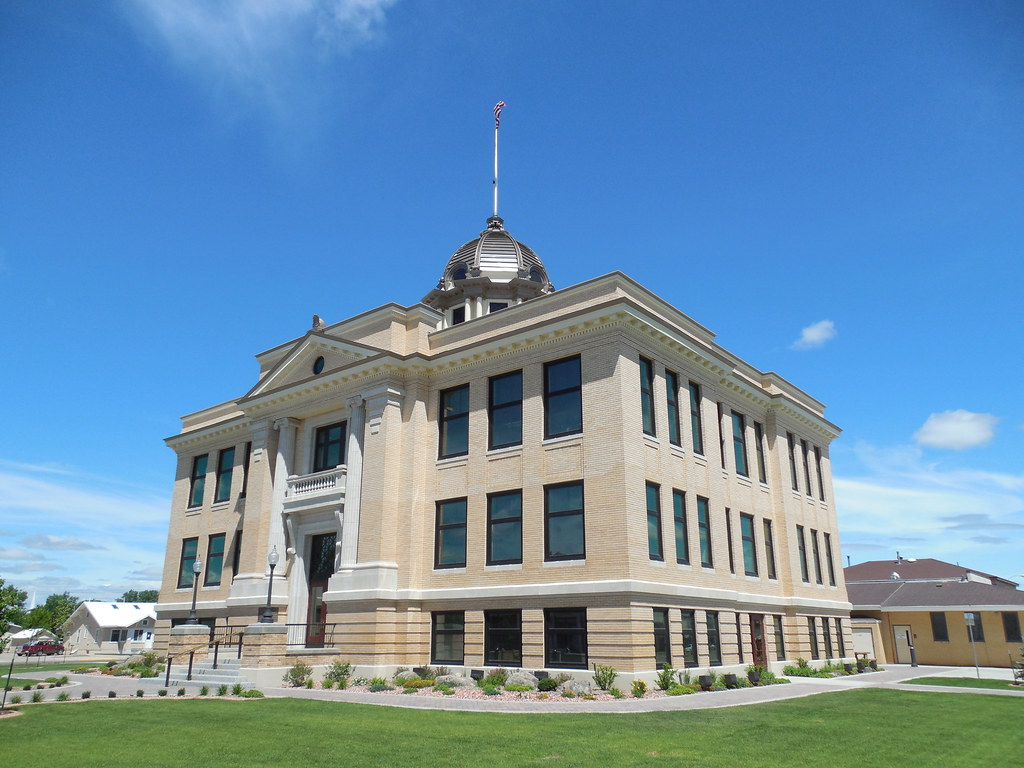 Richland County Courthouse Sidney Montana Completed In