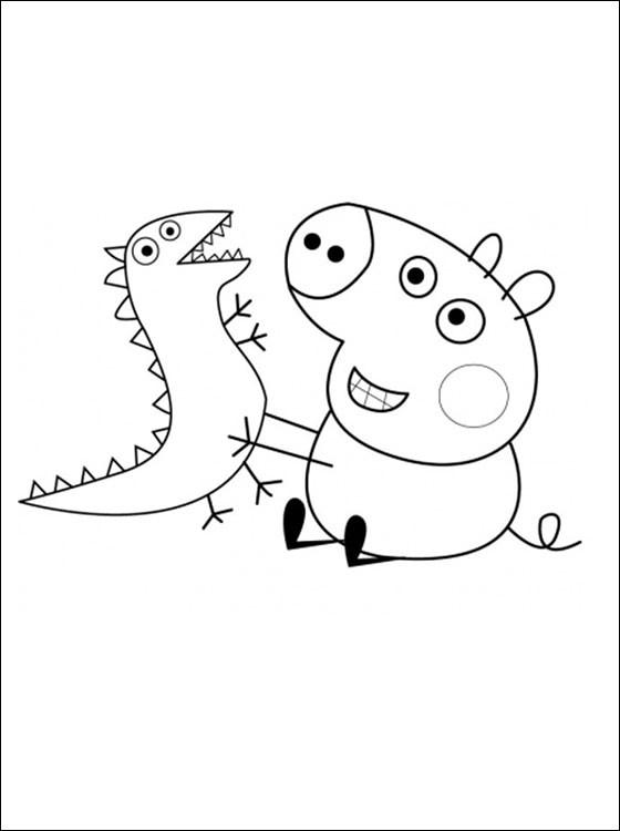 peppa pig desenhos do peppa pig para colorir pintar imprim flickr