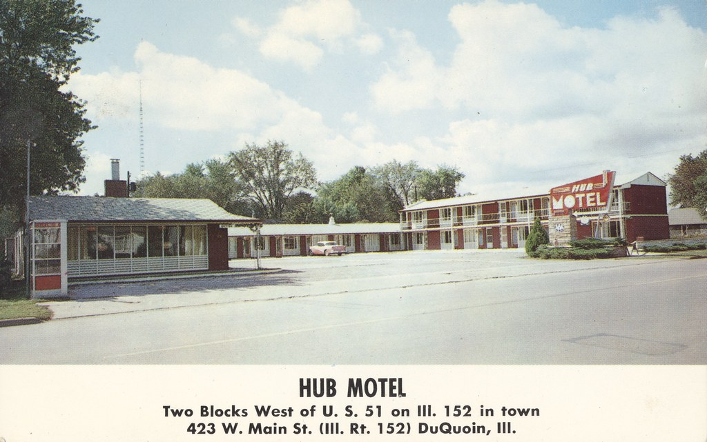Hub Motel - DuQuoin, Illinois