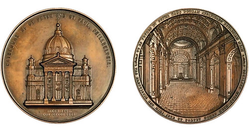 1864 Cathedral of St. Peter and St. Paul medal