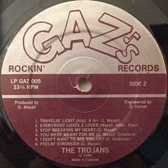 THE TROJANS:SAVE THE WORLD(LABEL SIDE-B)