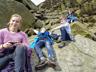 Top of Crowden Clough