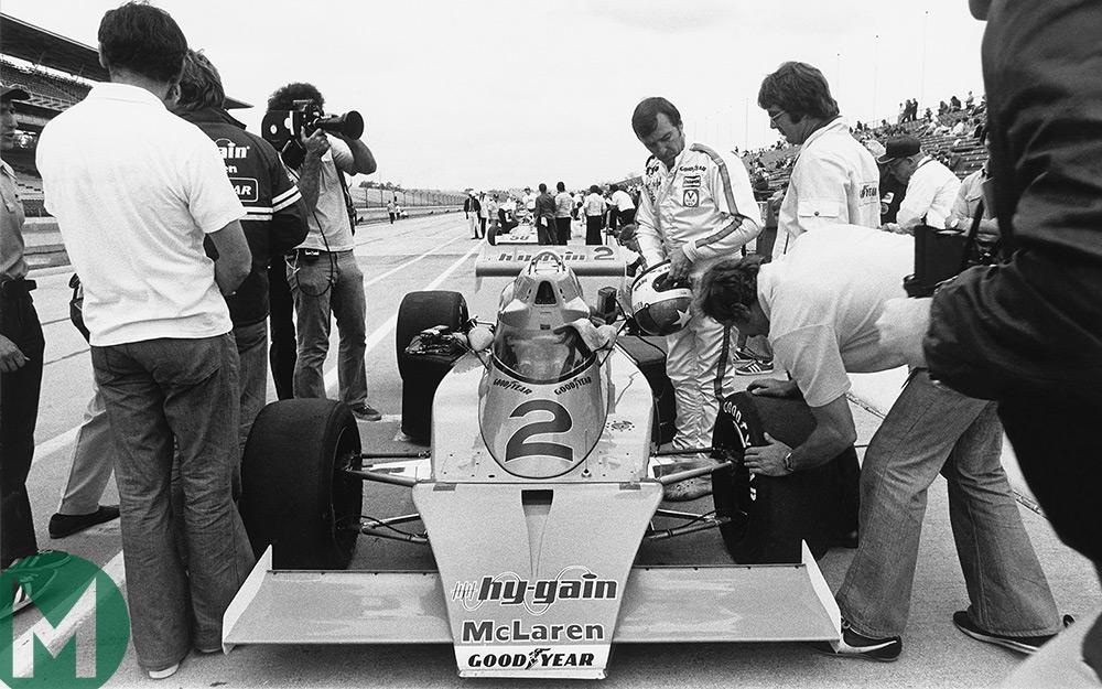 McLaren at Indy