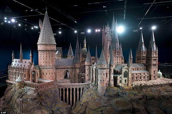 Maqueta Castillo Harry Potter