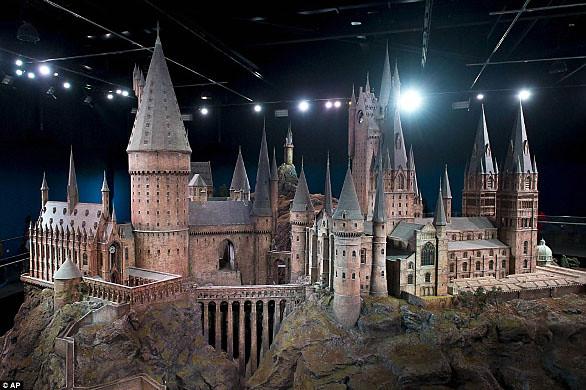 Maqueta Castillo Harry Potter