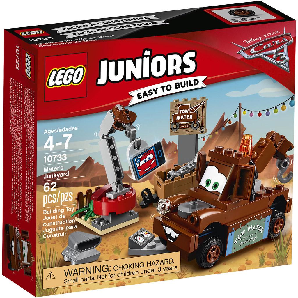 LEGO Juniors Cars 3 10733 - Mater's Junkyard