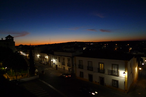 Dusk - Evora, Portugal
