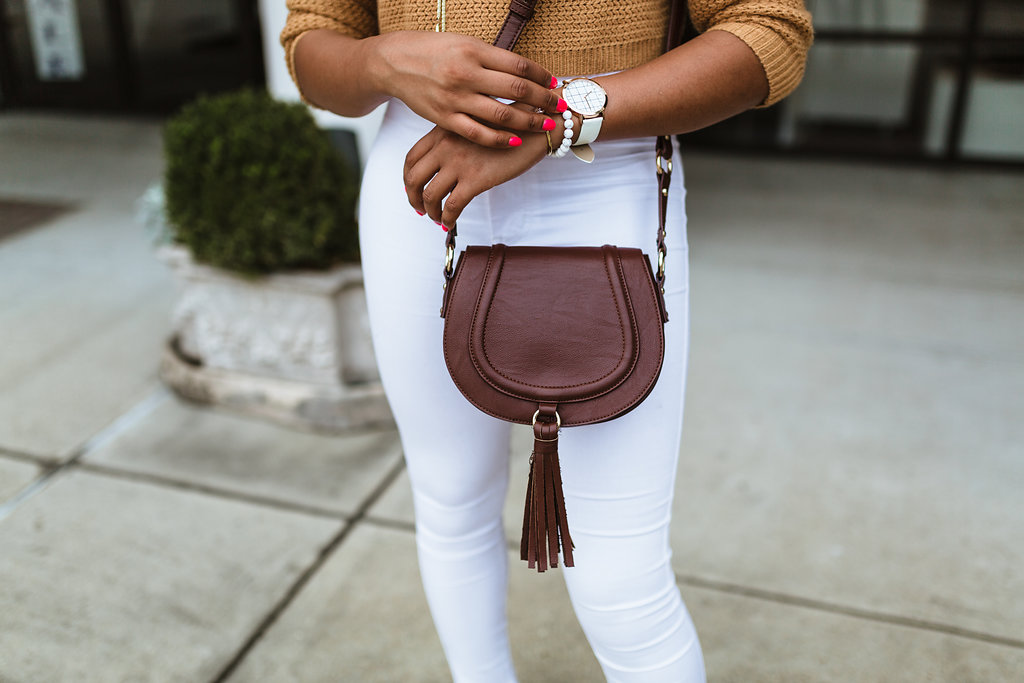 burgundy saddle bag, christian paul grid watch