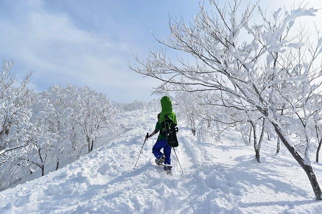 冬の守門岳 樹氷登山