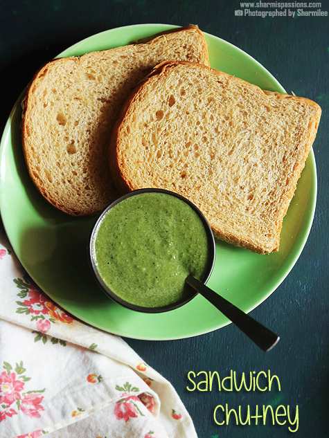 Sandwich chutney recipe