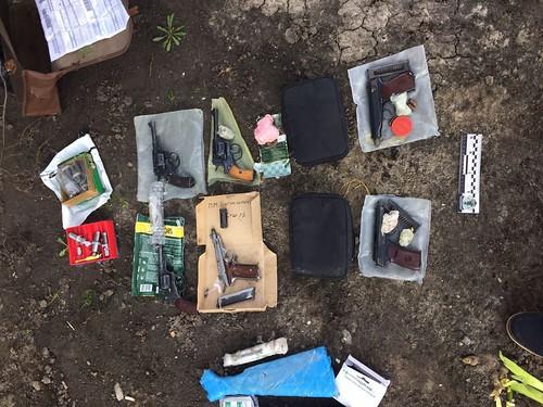 СБУ припинила нелегальне виготовлення та збут вогнепальної зброї