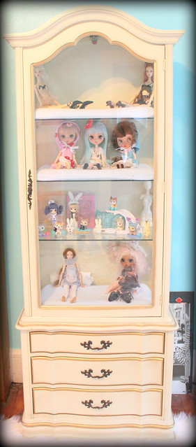 The Doll Curio Cabinet