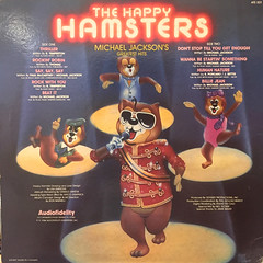 THE HAPPY HAMSTERS:THE HAPPY HAMSTERS SING MICHAEL JACSON'S GREATEST HITS(JACKET B)