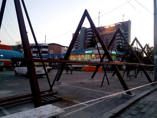 Трикутні МАФи автовокзал