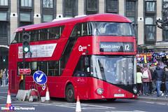 Wrightbus NRM NBFL - LTZ 1422 - LT422 - Dulwich Library 12 - Go Ahead London - London 2017 - Steven Gray - IMG_8403