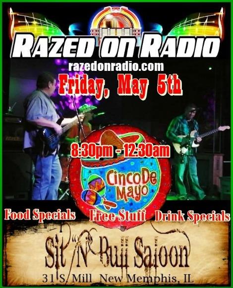 Razed On Radio 5-5-17