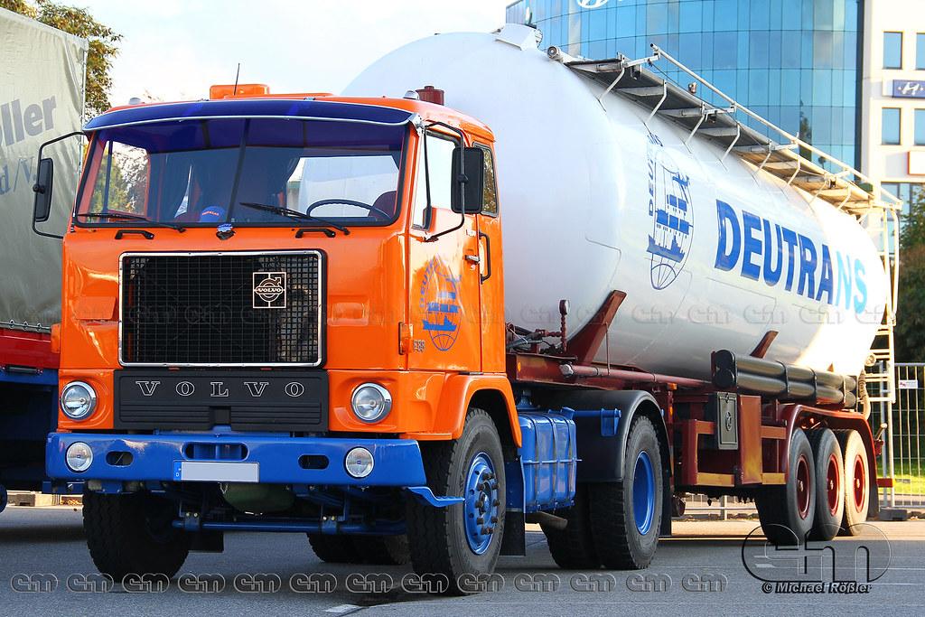 Volvo F88 Volvo F88 Sattelzug Deutrans Eplusm Flickr