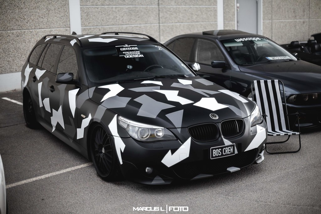 Bmw E61 Camo Photocredit Facebook Marcuslfoto