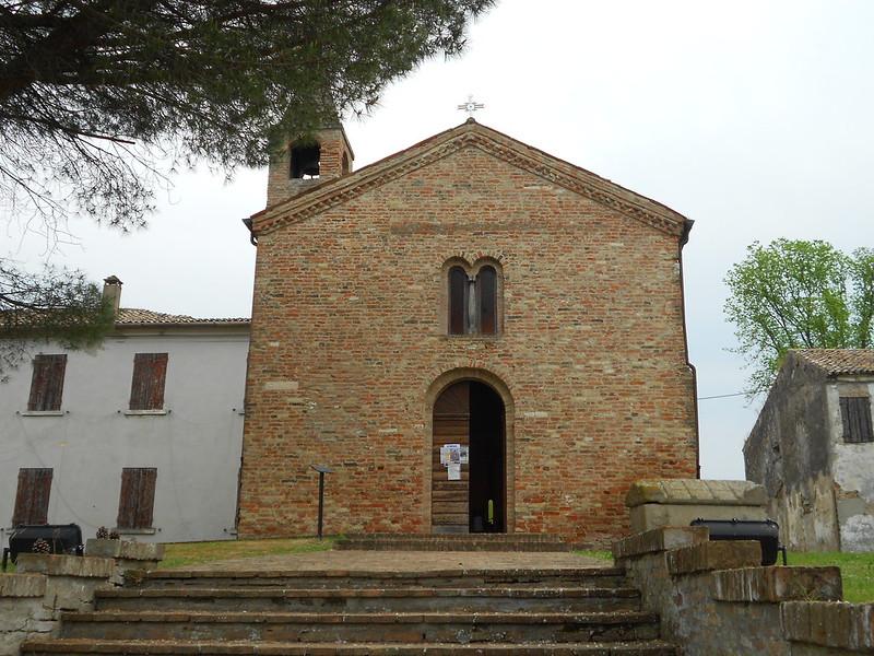 San Basilio (dove Dante si è ammalato di malaria), Ariano Polesine