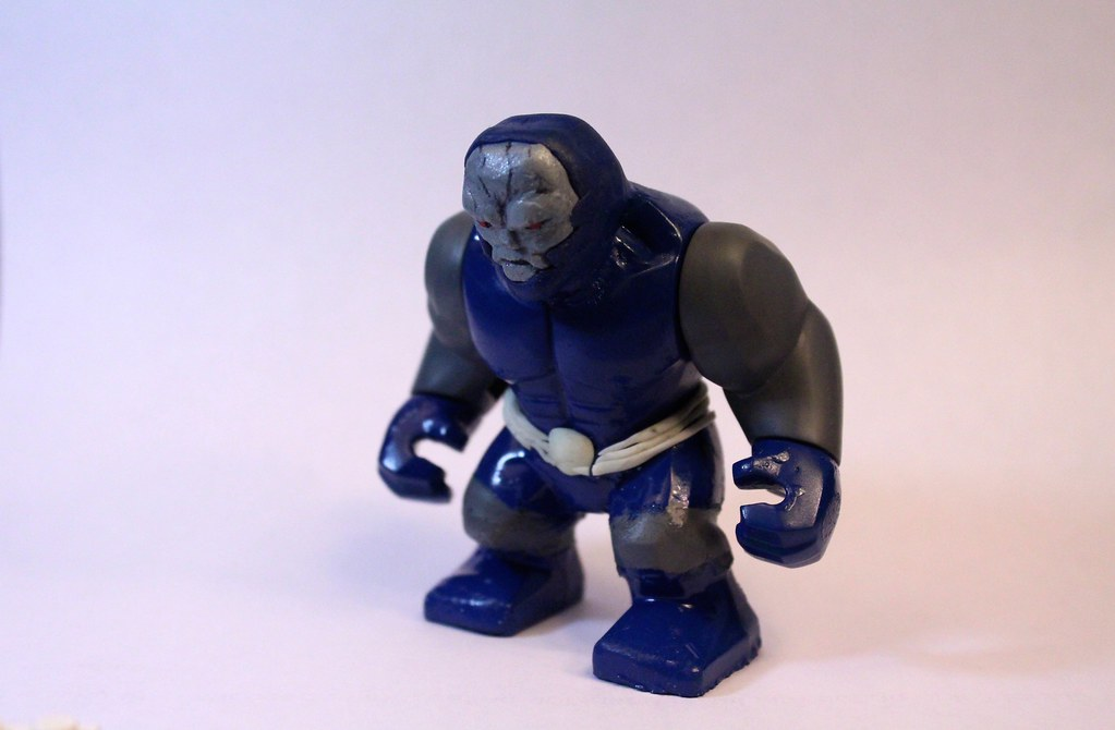 Lego Darkseid | Clay for the head turned out nice ...