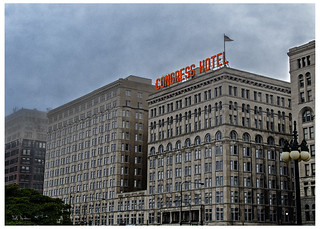 Congress Hotel in the Fog | by swanksalot