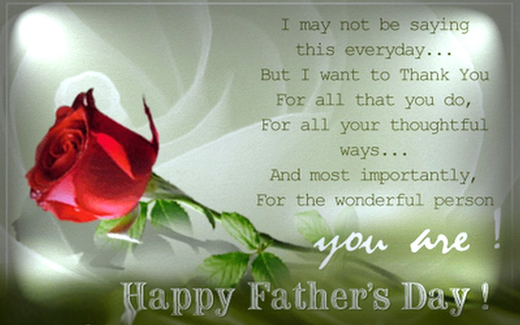 Fathers Day Messages From Wifes: Although My Father Has Passed,I Wish
