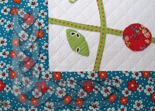 a quilting template for the outer border | by Anne@surelynotanotherproject