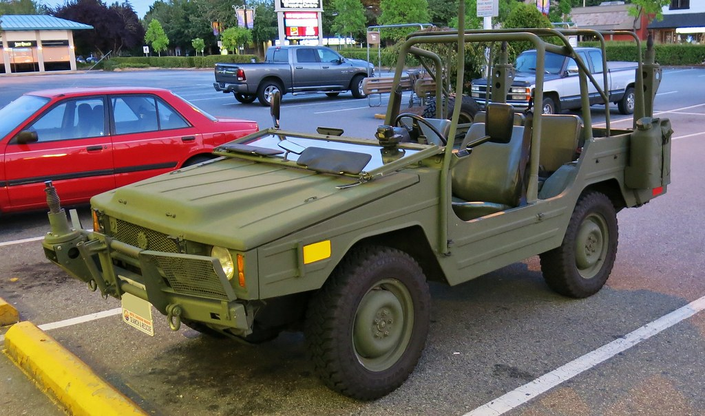 1985 Bombardier / Volkswagen Type 183 Iltis Military Light… | Flickr