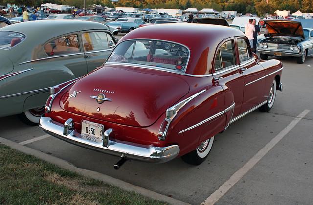 1950 oldsmobile futuramic 88 4 door sedan 2 of 2 for 1950 oldsmobile 4 door