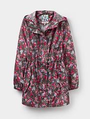 Joules floral raincoat