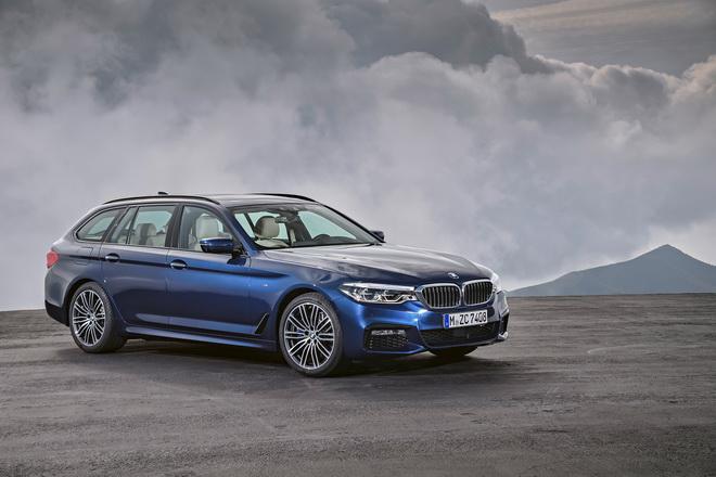 [新聞照片一] 全新BMW大5系列Touring 預售開跑