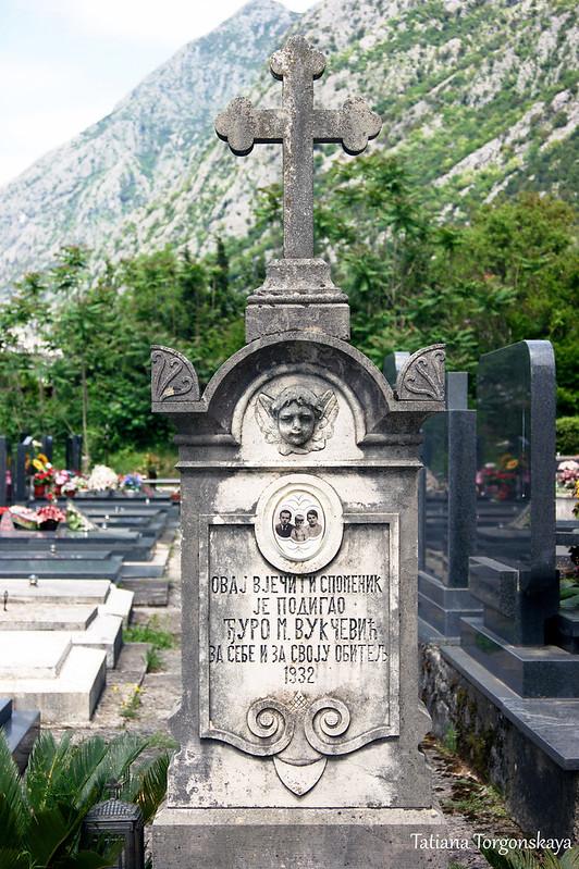Надгробный памятник семьи Вукчевич